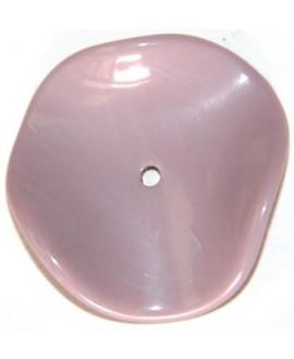 Donut resina ondulada lila 33mm paso 2mm