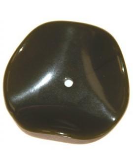 Donut resina ondulada verde 33mm paso 2mm