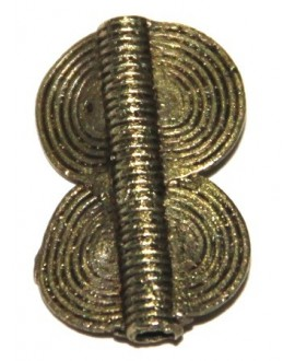Doble circulo, 28x18mm, paso 3mm