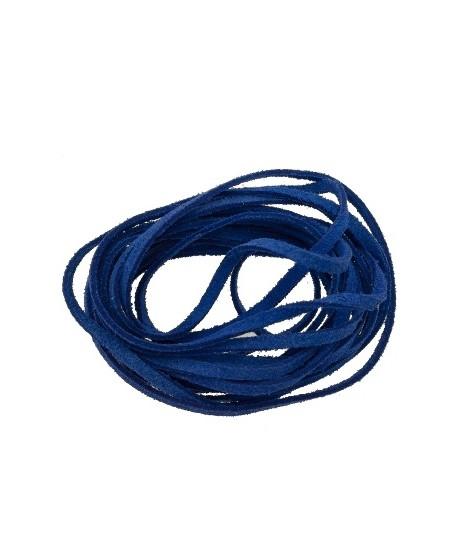 Antelina 4mm color azulón, precio por 3 metros