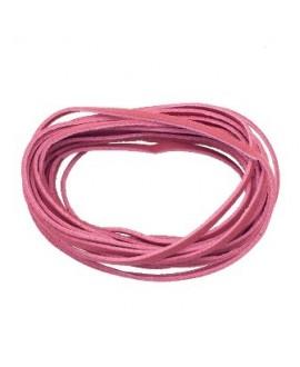 Antelina 3mm color rosa coral, precio por 3 metros