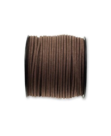 Antelina 3x1,4mm marrón, precio por 5 metros
