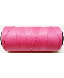 Hilo encerado Brasileño 1mm rosa, venta por 3 metros
