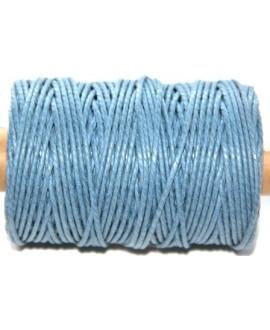 Cordón torzal algodón azul 1,5mm, venta por 5 metros