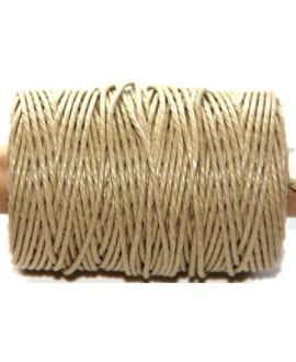 Cordón torzal algodón natural 1,5mm, venta por 5 metros