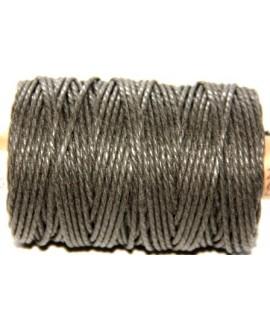 Cordón torzal algodón kaki 1,5mm, venta por 5 metros