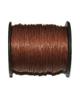 Hilo algodón marrón claro 1mm, precio por 5 metros