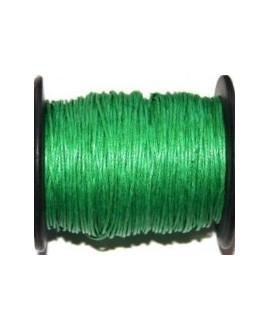 Hilo algodón verde 1mm, precio por 5 metros