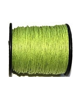 Hilo algodón verde claro 1mm, precio por 5 metros