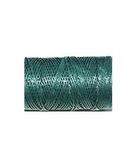 Hilo algodón verde oscuro 1mm, precio por 5 metros