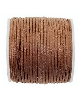 Hilo algodón avellana 1,5mm, precio por 5 metros