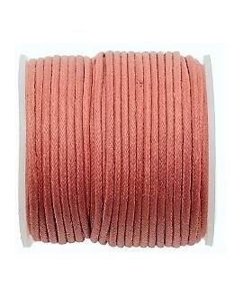Hilo algodón rosa palo 1,5mm, precio por 5 metros