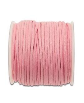 Hilo algodón rosa 1,5mm, precio por 5 metros
