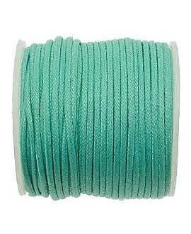 Hilo algodón turquesa 1,5mm, precio por 5 metros