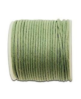Hilo algodón verde oliva 1,5mm, precio por 5 metros