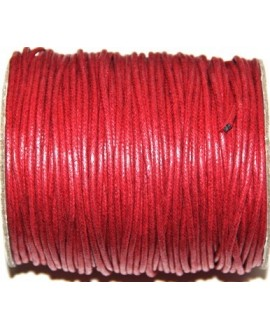 Hilo algodón rojo 2mm, precio por 5 metros