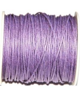 Hilo algodón lila 2mm, precio por 5 metros