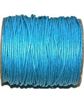 Hilo algodón azul 2mm, precio por 5 metros