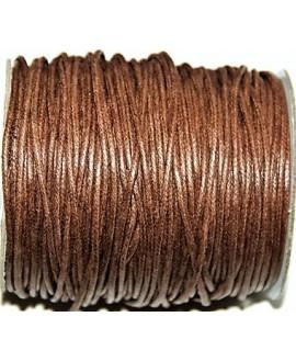 Hilo algodón marrón 2mm, precio por 5 metros