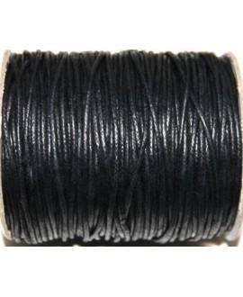 Hilo algodón negro 2mm, precio por 5 metros