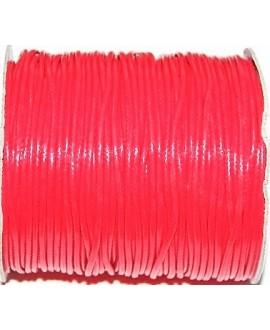 Hilo algodón coreano 3mm rojo, precio por 5 metros