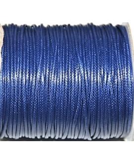 Hilo algodón coreano 3mm azul, precio por 5 metros
