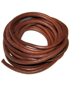 Cuero desgastado (rustico) 10mm, precio por 1 metro