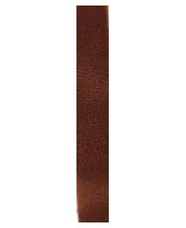 Cuero hecho en España marrón 10mm, precio por 20cm,