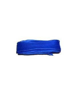 Cinta de seda azulón 105x2cm