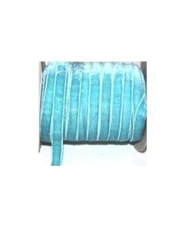 terciopelo elástico azul 10mm, precio por metro