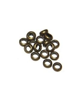 Rondel  bronce 5x3mm, paso 4mm, precio por 10 unidades