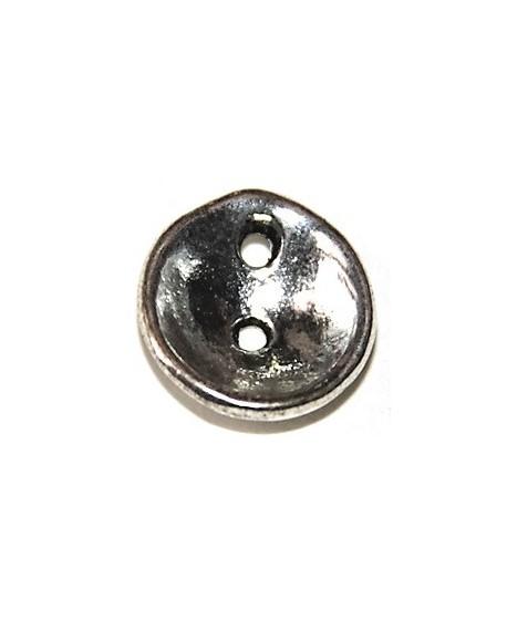 Entre-pieza dos agujeros, 15mm, paso 1mm, precio por 6 unidades