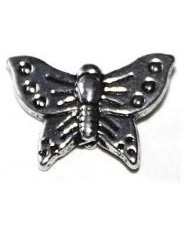 Entre-pieza mariposa metal 12x15mm paso 1mm, precio por 35 unidades