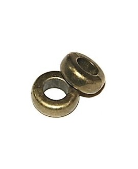 Rondel bronce 15x5mm, paso 6mm, precio por 5 unidades