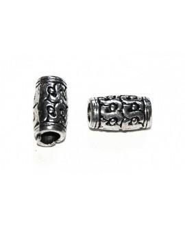 tubo metal 12x7mm, paso 4mm
