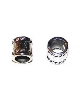 Entre-pieza tubo 7x7mm paso 5mm, precio por 30 unidades