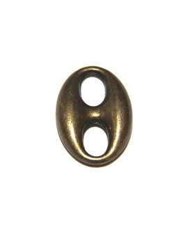 Calabrote bronce 20x15mm