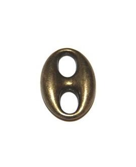 Calabrote bronce 20x15mm, precio por 15 unidades