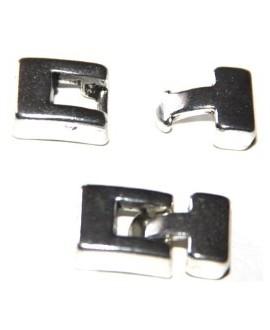 Cierre T metal 20mm, paso 8x3mm