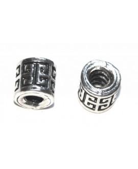 Tubo metal 8x10mm, paso 3mm, precio por 18 unidades