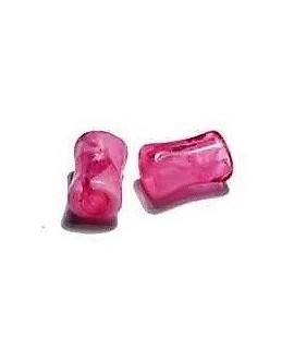 Tubo de resina rosa 10X6 mm paso 3 mm