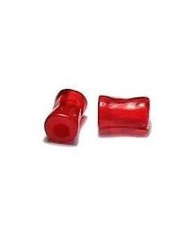 Tubo de resina rojo 10X6 mm paso 3 mm