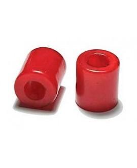 Tubo de resina rojo 13X12 mm paso 6 mm