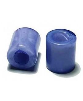 Tubo de resina morado 13X12 mm paso 6 mm