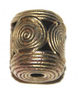 Tubo circulo 20x18mm, paso 3mm
