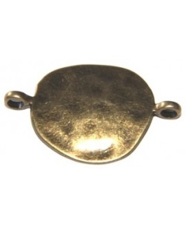 Entre-pieza bronce 43x30mm, paso 4mm