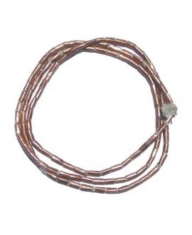 Tubo cobre etíopes, 6-7mm, paso 1,5mm, precio por ristra