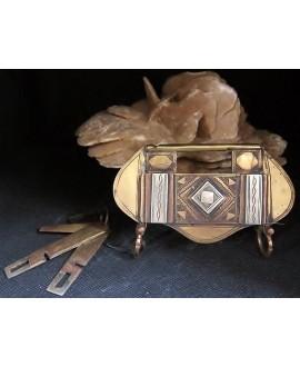 Candado tuareg, 6x11 cm