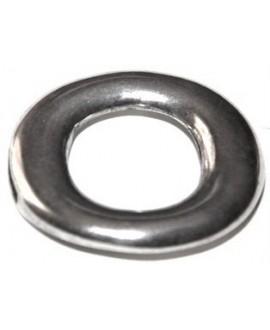 Cierre 36,5mm, paso 9,7x2,5mm, baño de plata