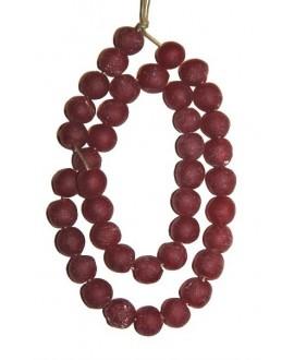 vidrio reciclado rojo, precio por ristra, 10mm, paso 3mm.